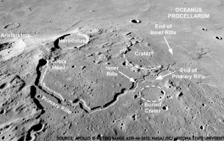 Moon Mark Landing Site