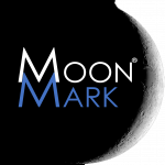 MOON MARK | The New Space Race is on Logo